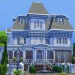 Mod Sims Wrayth Manor Edwardianed