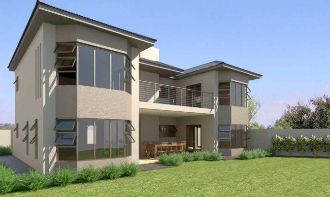 Model House Architectural Modern