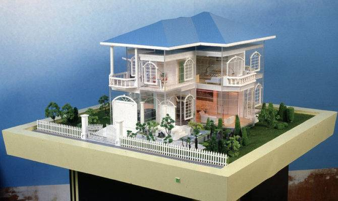 Model Layout Miniature Architectural Scale Models Real Estate House