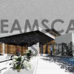 Model Modern House Cold Climate Modelling Autocad