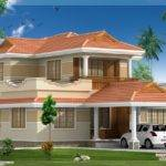 Model Villa Design Draft Designer Palakkad Kerala