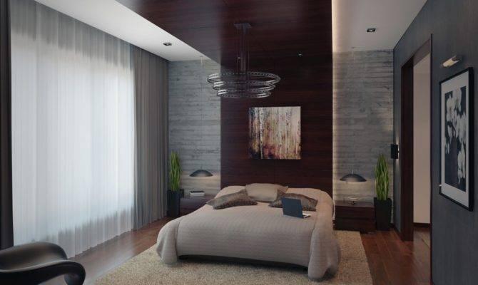 Modern Apartment Bedroom Furry Rug Design Olpos