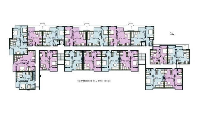 Modern Apartment Building Plans Home Design Complex