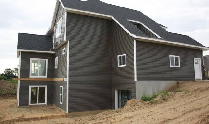 Modern Awesome Design House Siding Stone