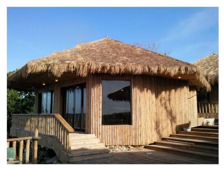 Modern Bahay Kubo Filipino Native Style House Simple Living Home Plans Blueprints 44040