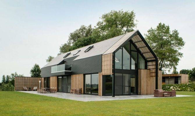 Modern Barn House Floor Plans Exterior Plan