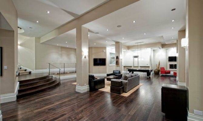 Modern Basement Decoration Idea Enhancedhomes