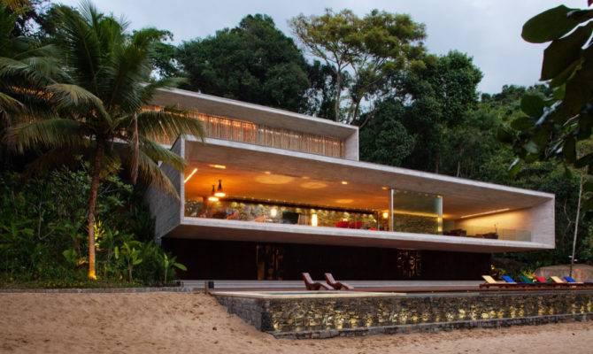 Modern Beach House Brazilian Coast Idesignarch Interior