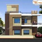 Modern Beautiful Duplex House Design Square Feet Bill