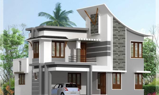 Modern Bedroom House Feet Indian Plans