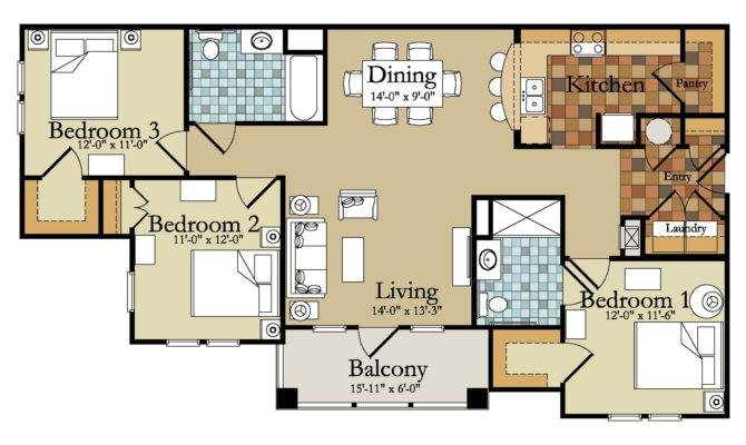 Modern Bedroom House Plans Plan