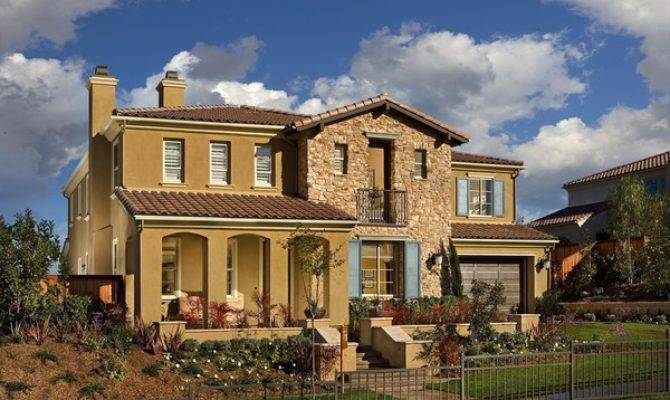 Modern Big Homes Exterior Designs San Diego New Home
