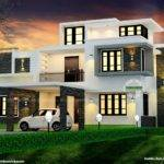 Modern Box Type Home Kerala Design