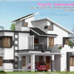 Modern Building Elevation Home House