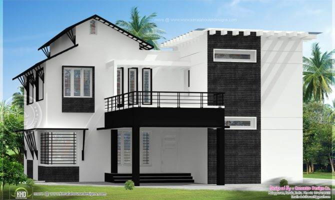 Modern Building Elevation Home