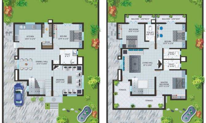 Modern Bungalow House Designs Floor Plans Type