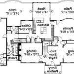 Modern Bungalow House Floor Plan Zen