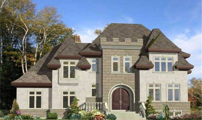 Modern Castle Home Plans Design