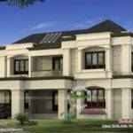 Modern Colonial Home Kerala Design Floor Plans