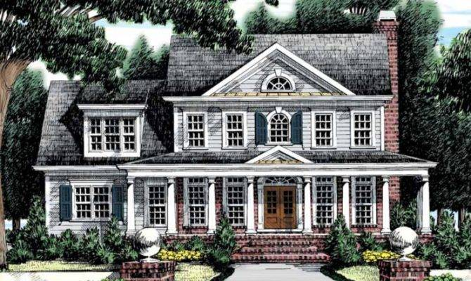 Modern Colonial House Plans Reflect