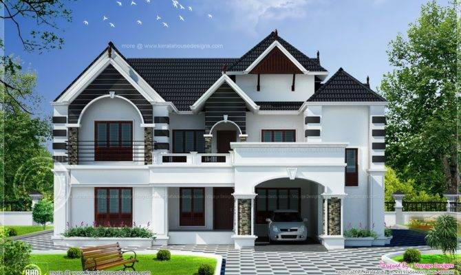 Modern Colonial Houses Style House