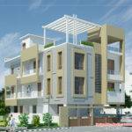 Modern Contemporary Home Elevations Kerala Design