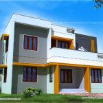 Modern Contemporary Home Exterior Kerala Design Floor Plans