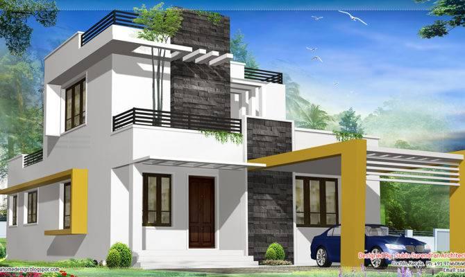 Modern Contemporary House Kerala Home Design Floor Plans