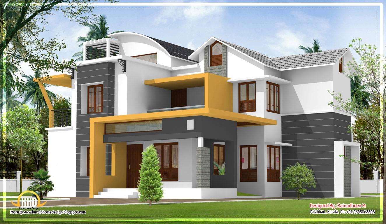 Modern Contemporary Kerala Home Design April Home Plans Blueprints 59113