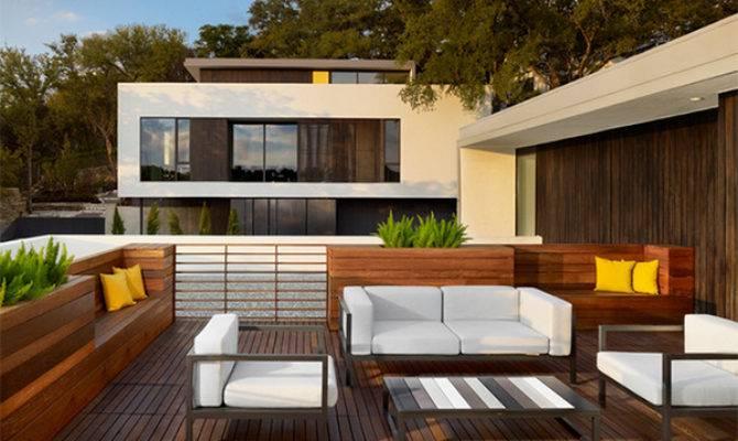 Modern Contemporary Rooftop Terrace Designs