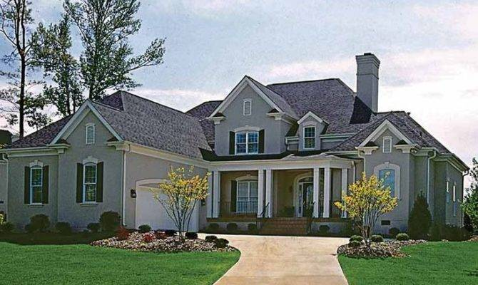 Modern Country Home Dream Plans Pinterest