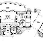 Modern Day Castle Floor Plans Print Plan