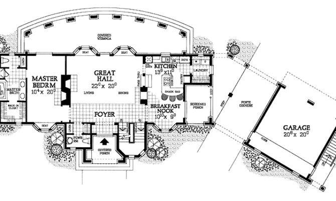 Modern Day Castle Floor Plans Print Plan