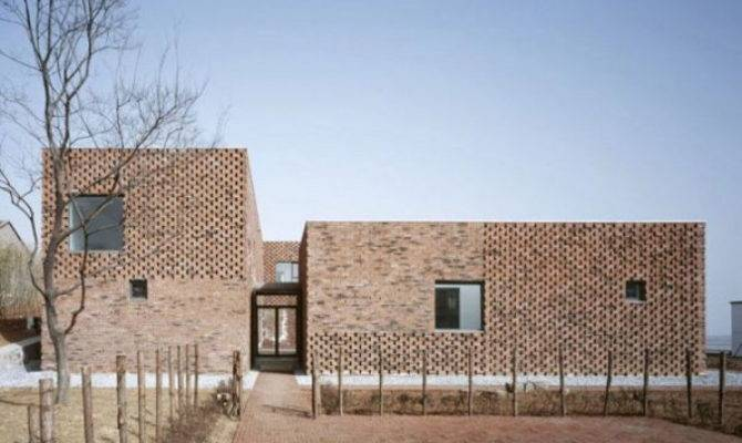 Modern Design Brick House China Brings Innovative