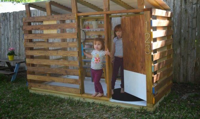 Modern Diy Outdoor Playhouse Tour