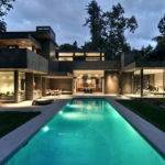 Modern Dream Home Surrounded Forest Chu Gooding Architects