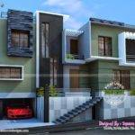 Modern Duplex House Kerala Home Design Floor Plans