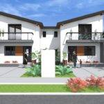 Modern Duplex Plans New Small House Design Bedroom Two