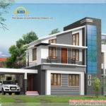 Modern Duplex Villa Elevation Kerala Home Design