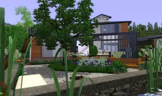 Modern English Cottage Garden