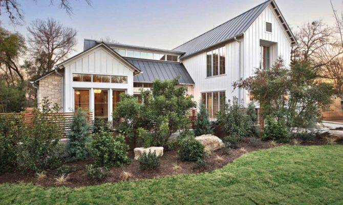 Modern Farmhouse Features Cool Indoor Slide Texas