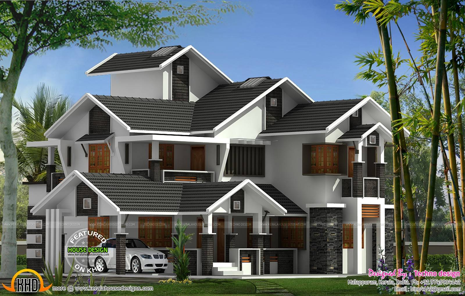 Modern Flat Roof House Keralahousedesigns Home Plans Blueprints 162627