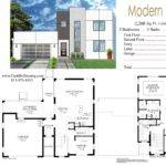 Modern Floor Plan Villa Joy Studio Design Best