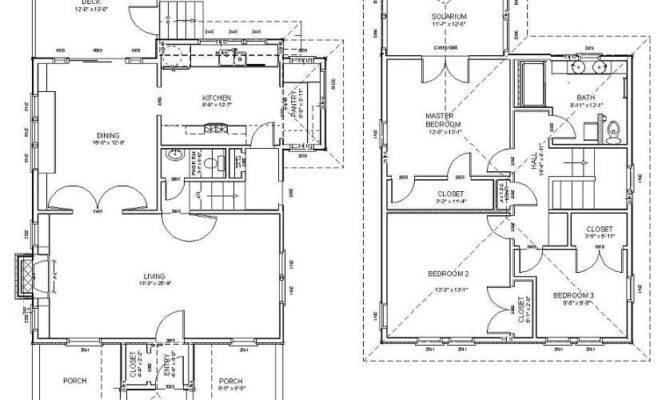Modern Foursquare House Plans Design