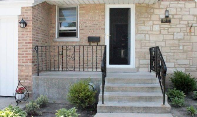 Modern Front Porch Overhang