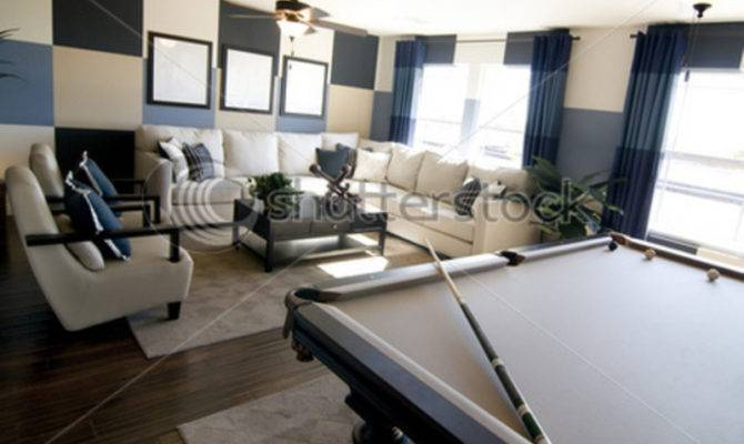 Modern Game Room Stylish Luxury Interior Design