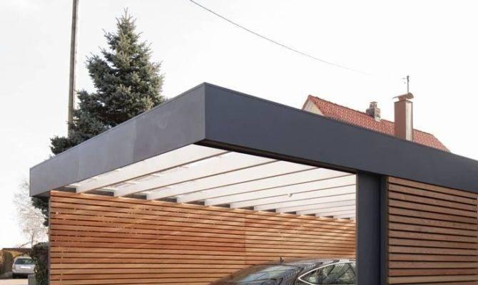 Modern Garage Design Minimalist House