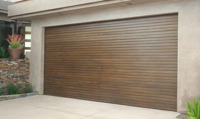 Modern Garage Doors Welcome Door