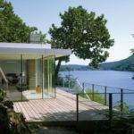 Modern German House Clad Glass Offers Unabated Lake Views