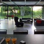 Modern Glass House Interior Plans Olpos Design